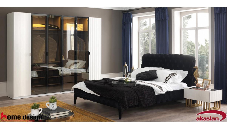 Akustik Beyaz Yatak Odası