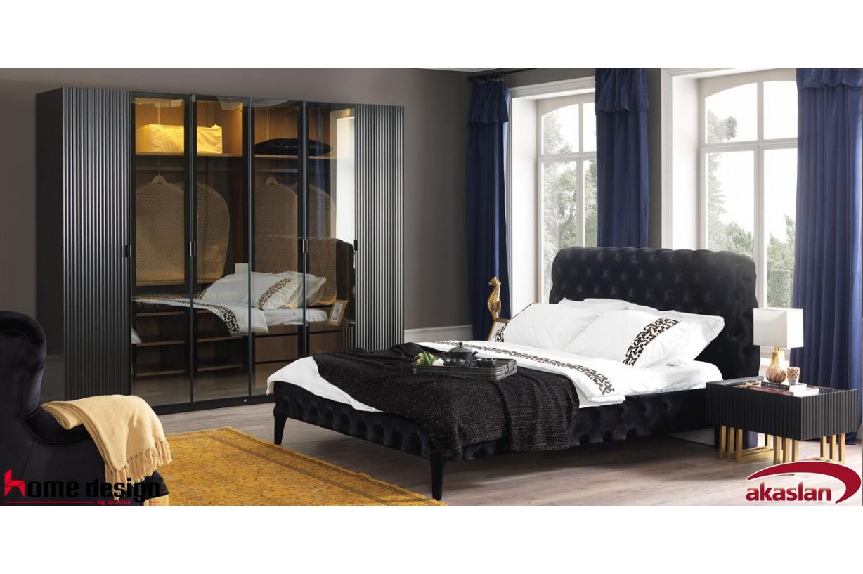 Akustik Siyah Yatak Odası