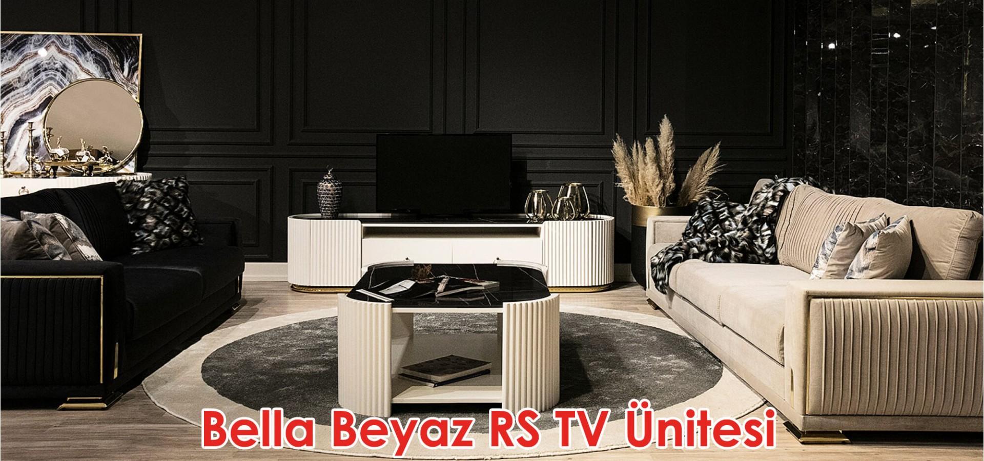 Bella Beyaz RS TV Ünitesi