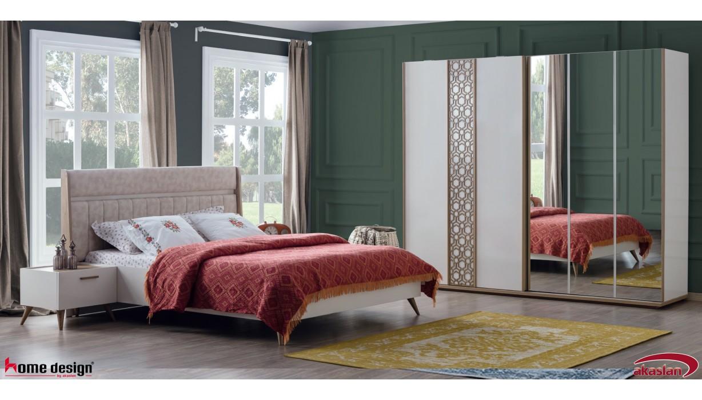 Mango Krem Yatak Odası