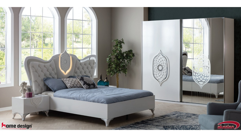 Tugra Beyaz Yatak Odası