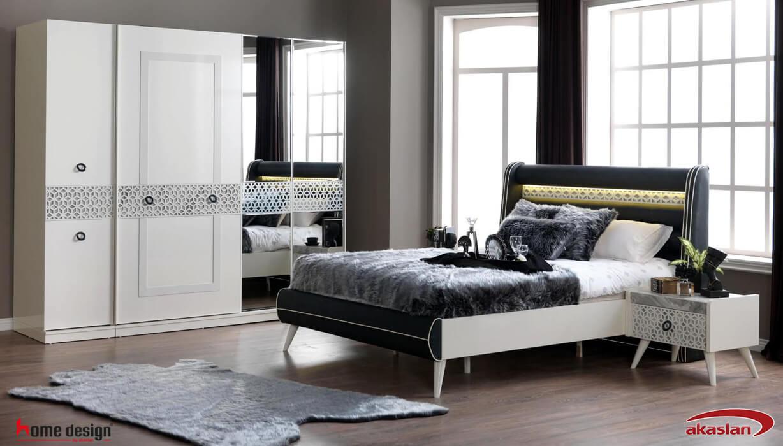 Arya Yatak Odası Beyaz