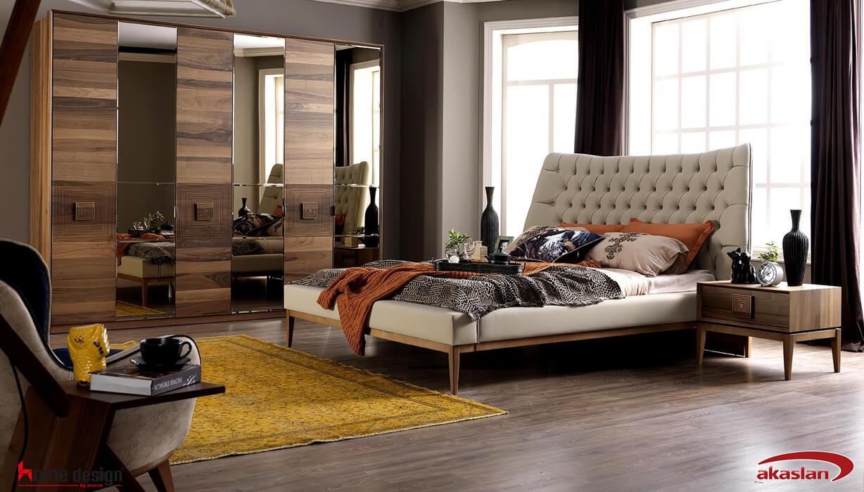 Solo Yatak Odası Walnut