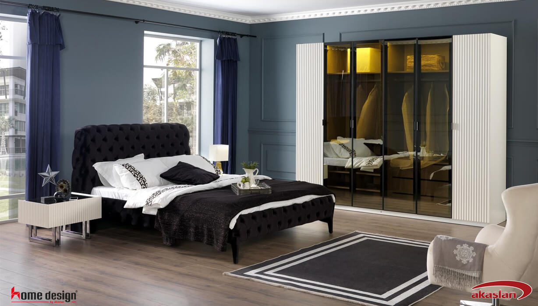 Senfoni Yatak Odası  Beyaz