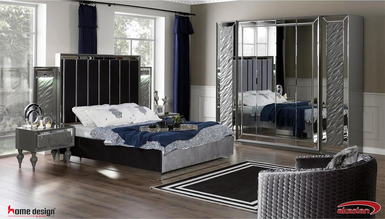 Zen Yatak odası Gri