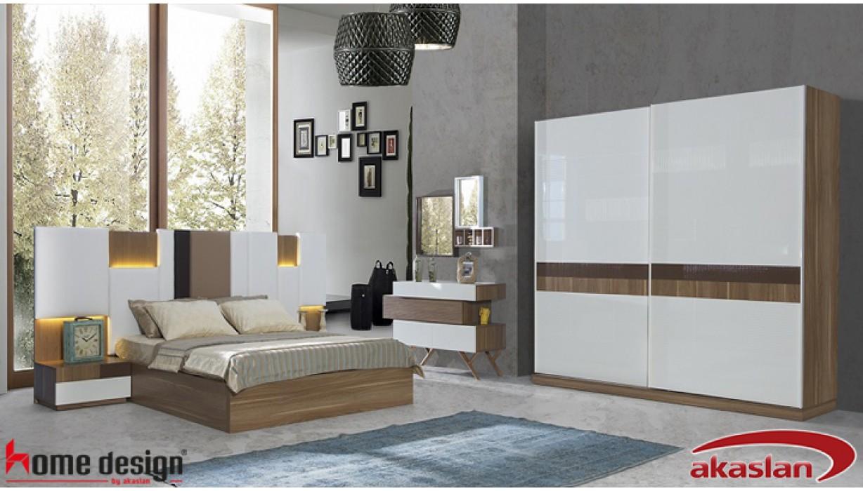 Palermo Ceviz Yatak Odası