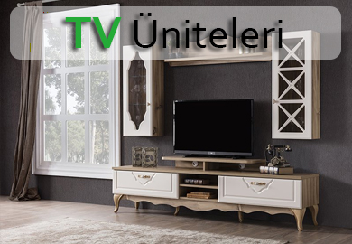 2019 model TV-Duvar Üniteleri Akaslan Mobilya Köln